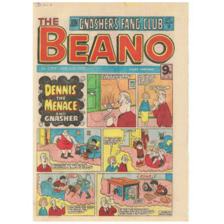 The Beano - 2nd January 1982 - issue 2059