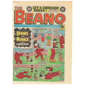 The Beano - 9th January 1982 - issue 2059