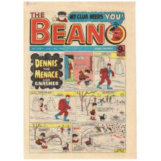 The Beano - 16th January 1982 - issue 2061