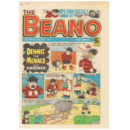 The Beano - 23rd January 1982 - issue 2062