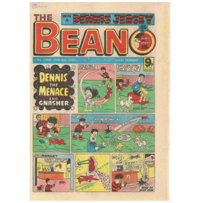 The Beano - 6th February 1982 - issue 2064