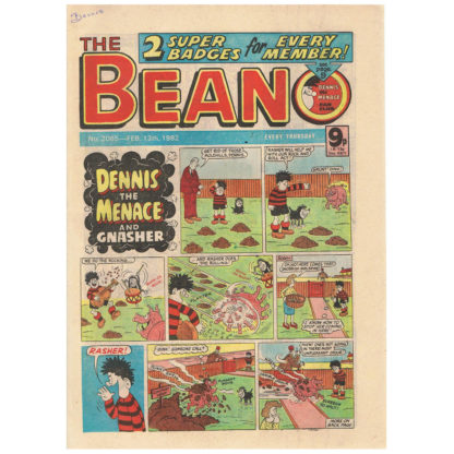 The Beano - 13th February 1982 - issue 2065