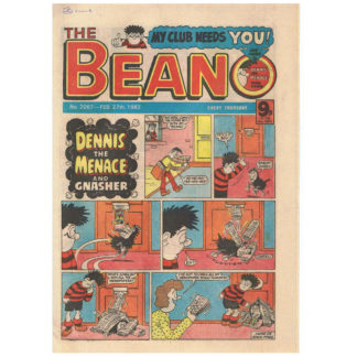 The Beano - 27th February 1982 - issue 2067