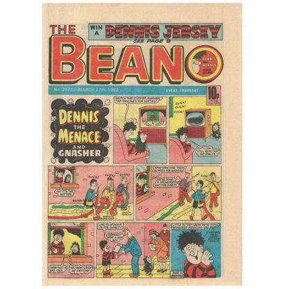The Beano - 27th March 1982 - issue 2071