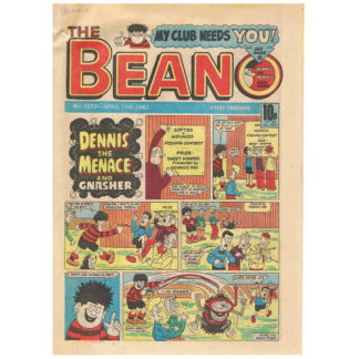 The Beano - 10th April 1982 - issue 2073