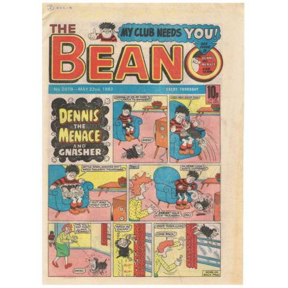 The Beano - 22nd May 1982 - issue 2079