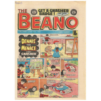 The Beano - 5th June 1982 - issue 2081