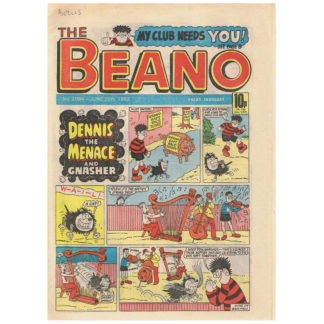 The Beano - 26th June 1982 - issue 2084