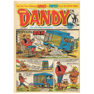 The Dandy - 25th March 1989 - issue 2470