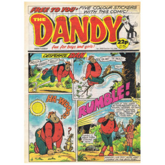 The Dandy - 7th October 1989 - issue 2498
