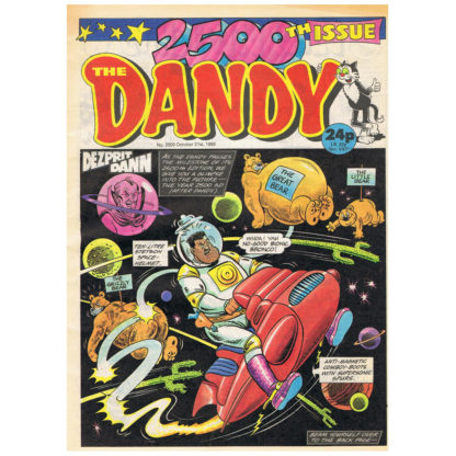 The Dandy - 21st October 1989 - issue 2500
