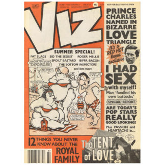 Viz - August 1989 - issue 37