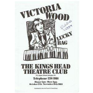 Victoria Wood, signed programme