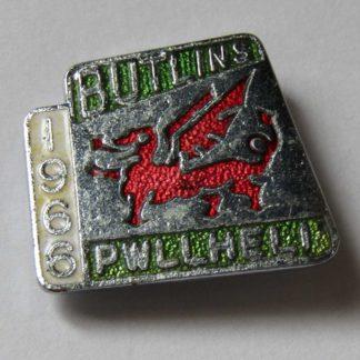 Butlin's -Pwllheli - 1966 - Pin Badge