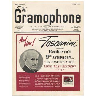The Gramophone - April 1953