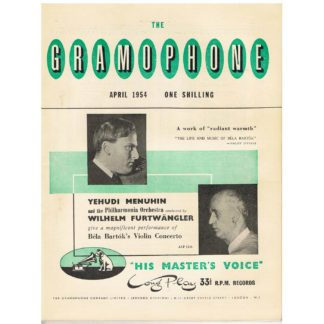 The Gramophone - April 1954