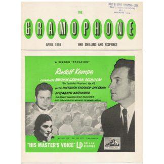 The Gramophone - April 1956