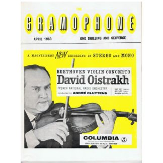 The Gramophone - April 1960