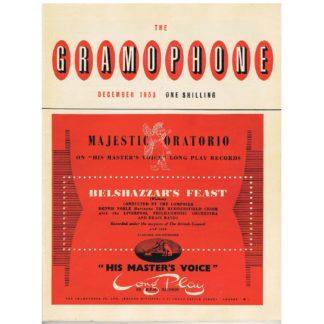 The Gramophone - December 1953
