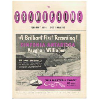 The Gramophone - February 1954