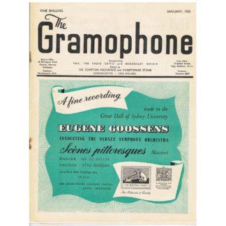 The Gramophone - January 1953
