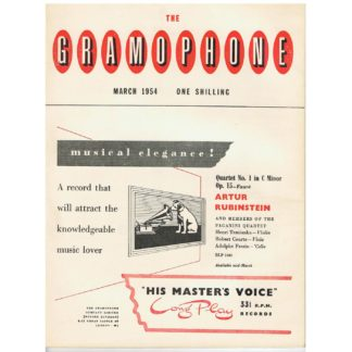 The Gramophone - March 1954