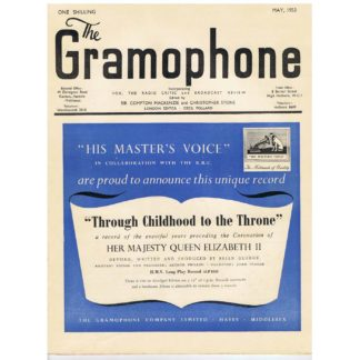 The Gramophone - May 1953