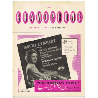 The Gramophone - October 1953