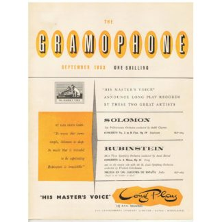 The Gramophone - September 1953