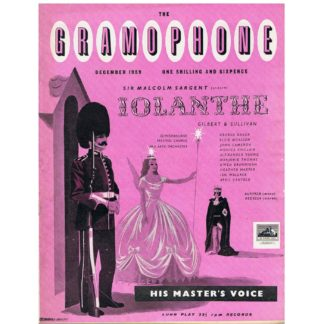 The Gramophone - December 1959