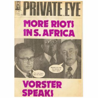 Private Eye magazine - 385 - 17th September 1976
