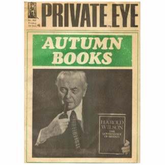 Private Eye magazine - 388 - 29th October 1976