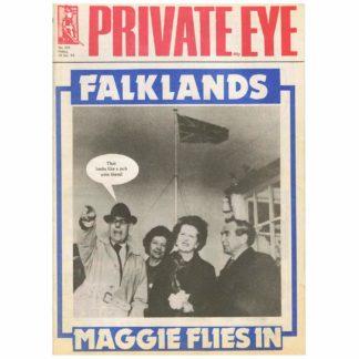 Private Eye magazine - 550 - 14th January 1983