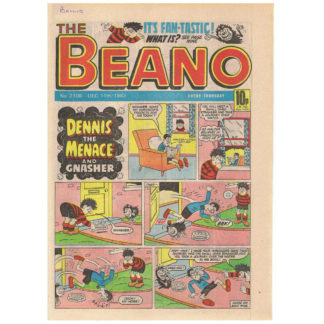 The Beano - 11th December 1982 - issue 2108