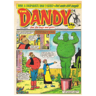 The Dandy - issue 2503 - 11th November 1989