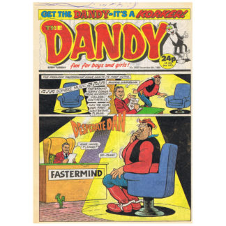 The Dandy - issue 2507 - 9th December 1989