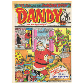 The Dandy - issue 2509 - 23rd December 1989
