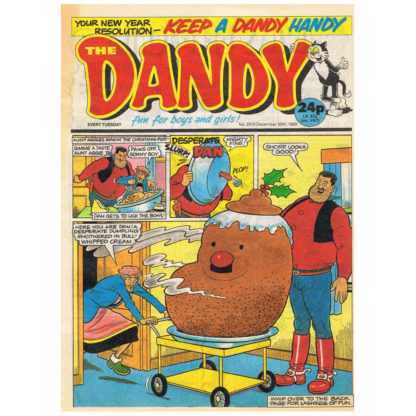 The Dandy - issue 2510 - 30th December 1989
