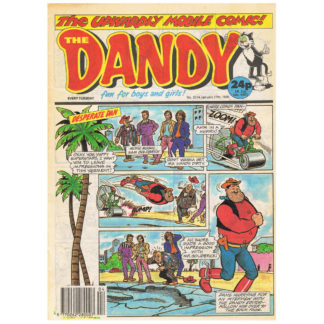 The Dandy - issue 2514 - 27th January 1990
