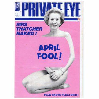 Private Eye magazine - 712 - 1st April 1989