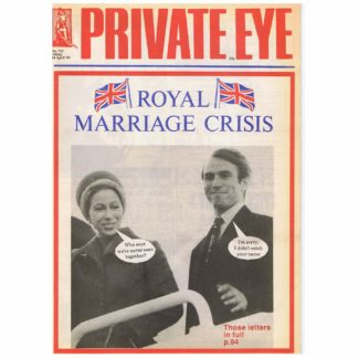 Private Eye magazine - 713 - 14th April 1989
