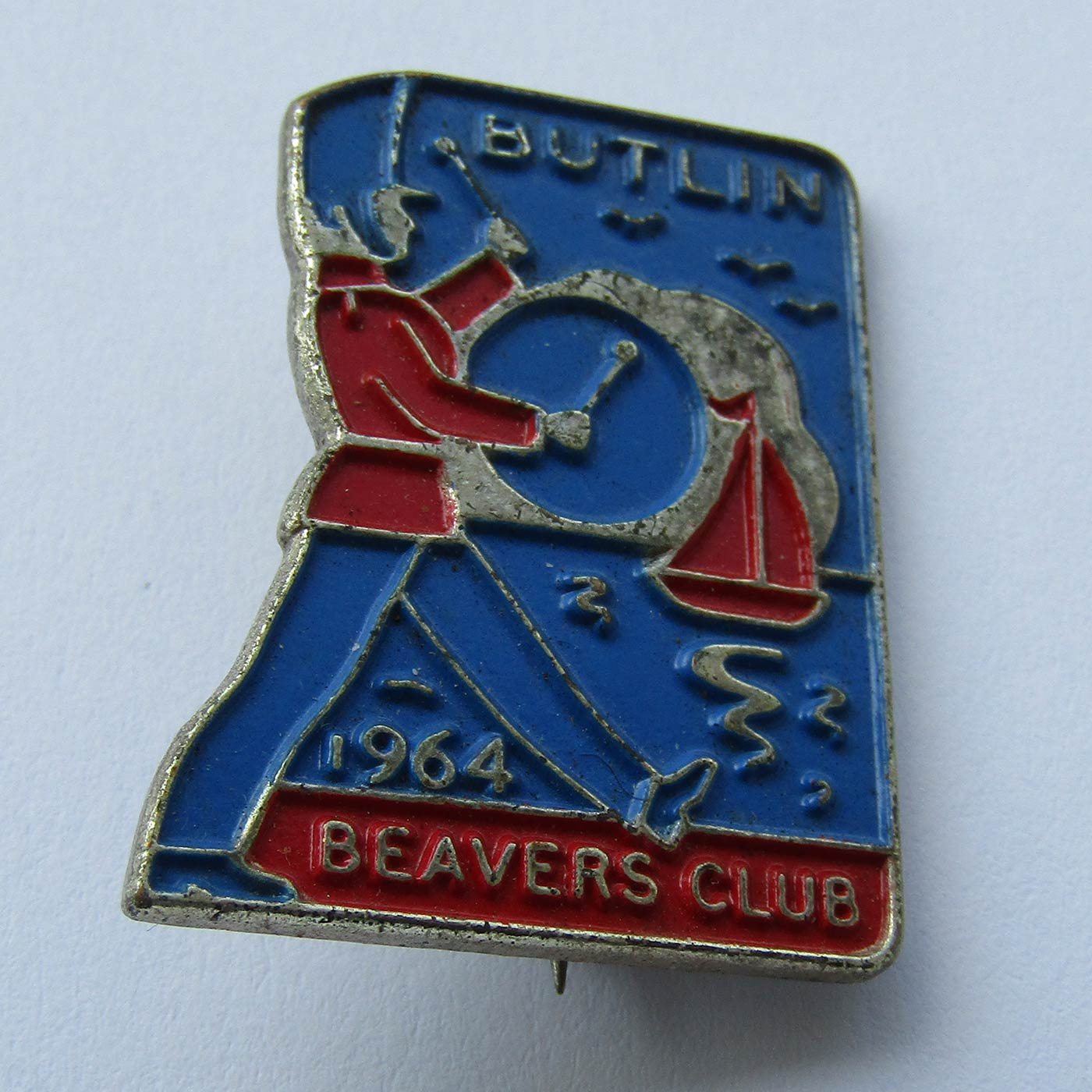Butlin's Pin Badge - Beavers Club