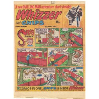 Whizzer and Chips - 19th April 1975