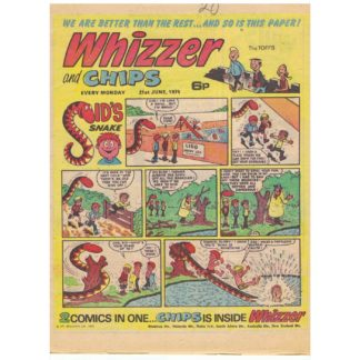 Whizzer and Chips - 21st June 1975
