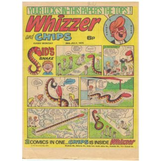 Whizzer and Chips - 7th July 1975