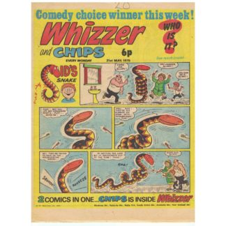 Whizzer and Chips - 31st May 1975