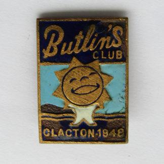 Butilins badge - 1948 - Clacton