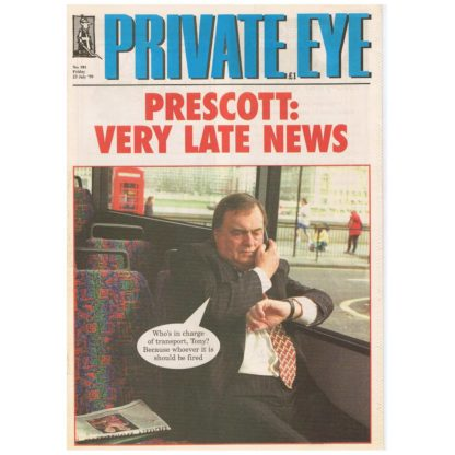 Private Eye - 981 - 23rd July 1999