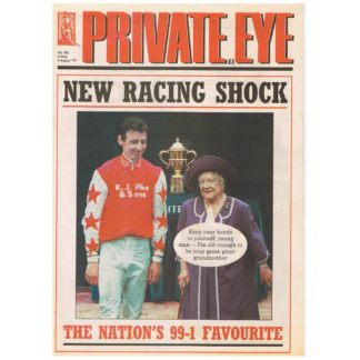 Private Eye - 982 - 6th August 1999
