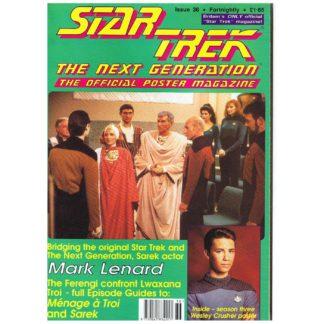 Star Trek: TNG - 0036 - Poster magazine